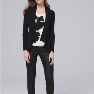 Black Tailored Cardigan